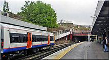 TQ3266 : West Croydon station, south on Up platform, 2005 by Ben Brooksbank