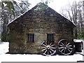 H4379 : Forge, Ulster American Folk Park (side) : Week 3