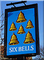SE6359 : The Six Bells, Strensall by Ian S