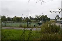 TQ2767 : All weather pitches, Poulter Park by N Chadwick