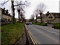 SP2511 : Down the A361 towards the centre of Burford by Jaggery