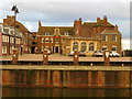 TF6119 : King's Staithe Square and Purfleet Quay in King's Lynn by Richard Humphrey