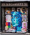 TQ3381 : Graffiti, Fournier Street, Spitalfields : Week 3