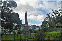 SX4258 : Victoria Gardens Monument by N Chadwick