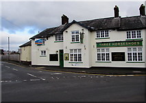 ST3090 : LEASE THIS PUB board on the Three Horseshoes, Malpas, Newport by Jaggery