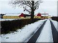 H5272 : Colourful farm buildings ahead, Cloghfin by Kenneth  Allen