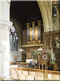SK9136 : St Wulfram, Grantham - Organ by John Salmon