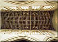 SK9153 : St Helen, Brant Broughton - Nave roof by John Salmon
