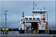 NS2059 : Ferry Loch Shira at Largs by Thomas Nugent