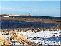 NU0152 : Lighthouse at Berwick on Tweed by Jennifer Petrie