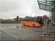 SJ8185 : Manchester Airport Bus Station by Gerald England