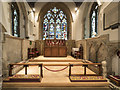 TQ0574 : St Mary, Stanwell - Sanctuary by John Salmon