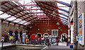 SU9677 : Windsor & Eton Riverside station, concourse 2005 by Ben Brooksbank