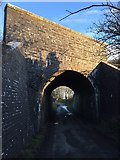 SS8178 : Brick railway bridge by Alan Hughes