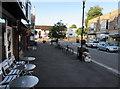 ST1577 : Alfresco facilities in High Street, Llandaff, Cardiff by Jaggery