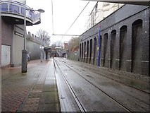 SO9596 : Bilston Central tram stop, West Midlands by Nigel Thompson