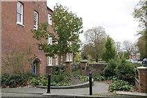 SU5985 : Faringdon ward entrance by Bill Nicholls
