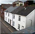 ST1600 : White houses, New Street, Honiton by Jaggery