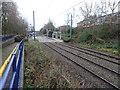 SP0190 : Kenrick Park tram stop, West Midlands by Nigel Thompson