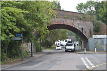 TQ2865 : Railway Bridge, Mill Lane by N Chadwick