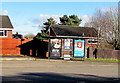 ST1378 : Radyr Chain bus stop shelter adverts, Cardiff by Jaggery