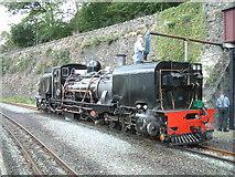 SH4862 : Beyer Garratt 143 being watered at Caernarfon by Richard Hoare