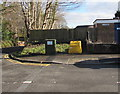ST1380 : King's Avenue telecoms cabinet, Radyr, Cardiff by Jaggery