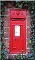 SE8932 : Edward VII postbox on Nordham, North Cave by JThomas