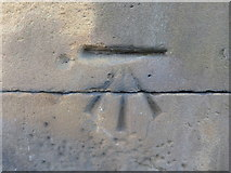 SE1431 : OS Cut Benchmark, Great Horton Road by Stephen Armstrong