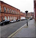SP0687 : Regent Street in the Jewellery Quarter, Birmingham by Jaggery