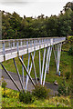 SX0554 : Eden Project footbridge by Ian Capper
