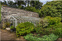 SX4268 : Greenhouse, Cut Flower Garden by Ian Capper