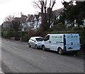 ST1379 : Loc Lam & Son van, Heol Isaf, Radyr, Cardiff by Jaggery