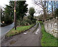 SJ3056 : West along Plas Maen Drive near Cefn-y-bedd, Flintshire by Jaggery
