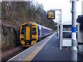 NT4936 : A Tweedbank bound train departing from Galashiels station by John Lucas