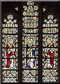 SK9153 : Window S.V,  St Helen's church, Brant Broughton by Julian P Guffogg
