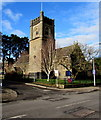 ST1380 : Christ Church, Radyr, Cardiff by Jaggery