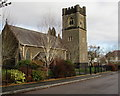 ST1380 : South side of Christ Church, Radyr, Cardiff by Jaggery
