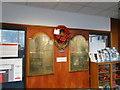 TG2408 : War Memorials in Norwich Postal Sorting Office by Adrian S Pye