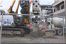 NT2574 : Construction and demolition, St James site Edinburgh by Jim Barton