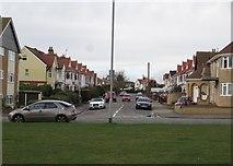 TM1714 : St Vincent Road, Clacton-on-Sea by Duncan Graham
