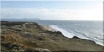 SZ1790 : The southern coast of Hengistbury Head by David Smith
