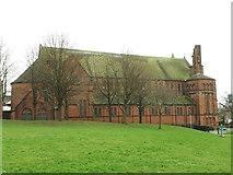 SE3135 : St Aidan's Harehills - north side by Stephen Craven