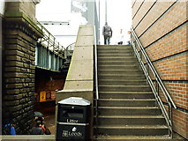 SE3033 : Steps from Swinegate to New Station Street by Stephen Craven