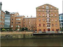 SE3033 : Riverside buildings, Sovereign Street, Leeds by Stephen Craven