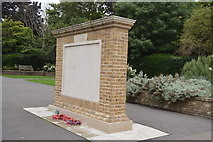 TQ2764 : War Memorial by N Chadwick