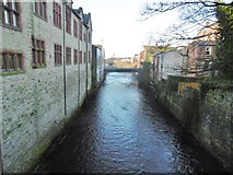 SJ9698 : Stalybridge, River Tame by Mike Faherty