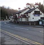 SJ3057 : Ye Olde Castle Inn, Caergwrle, Flintshire by Jaggery