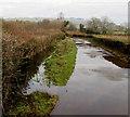 ST1883 : Waterlogged farm access road, Lisvane, Cardiff by Jaggery
