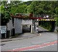 ST0583 : Underpass and bridge, Cross Inn Road, Cross Inn by Jaggery